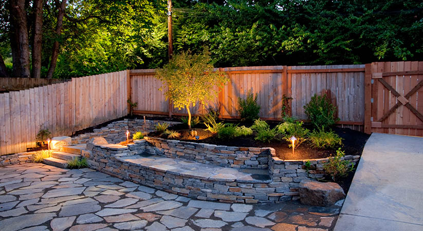 Tips build your own diy backyard waterfall zero city for Build a simple backyard waterfall